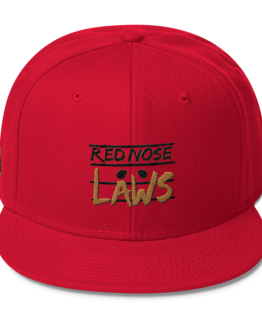 Red Nose Laws Wool Blend Snapback – Virginia Edition Red